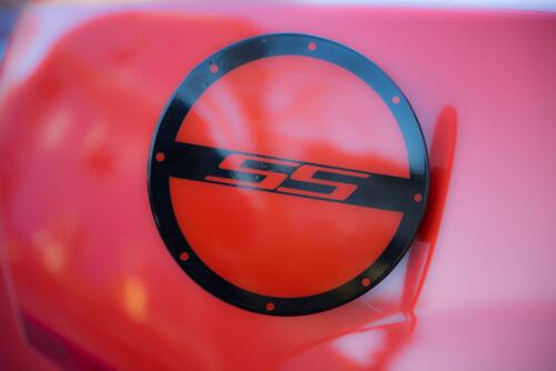 Chevrolet Camaro 2010 Gas Door Cover Skin 3M Scotchprint 1080 DECAL SS RS