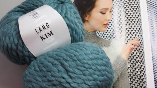 Lana 700g largo Yarns kim alpaca merino juncos Mint agua verde salvia verde claro