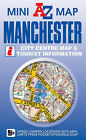 Manchester Mini Map by Geographers' A-Z Map Company (Sheet map, folded, 2011)