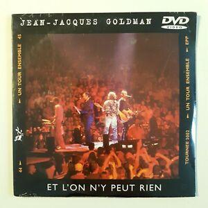 JEAN-JACQUES-GOLDMAN-ET-L-039-ON-Y-PEUT-RIEN-COULISSES-LIVE-DVD-Single-NEUF