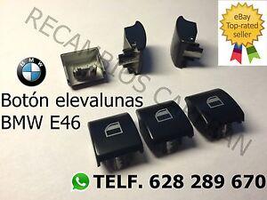 Bmw-E46-BOTON-INTERRUPTOR-ELEVALUNAS-BOTONERA-NUEVO