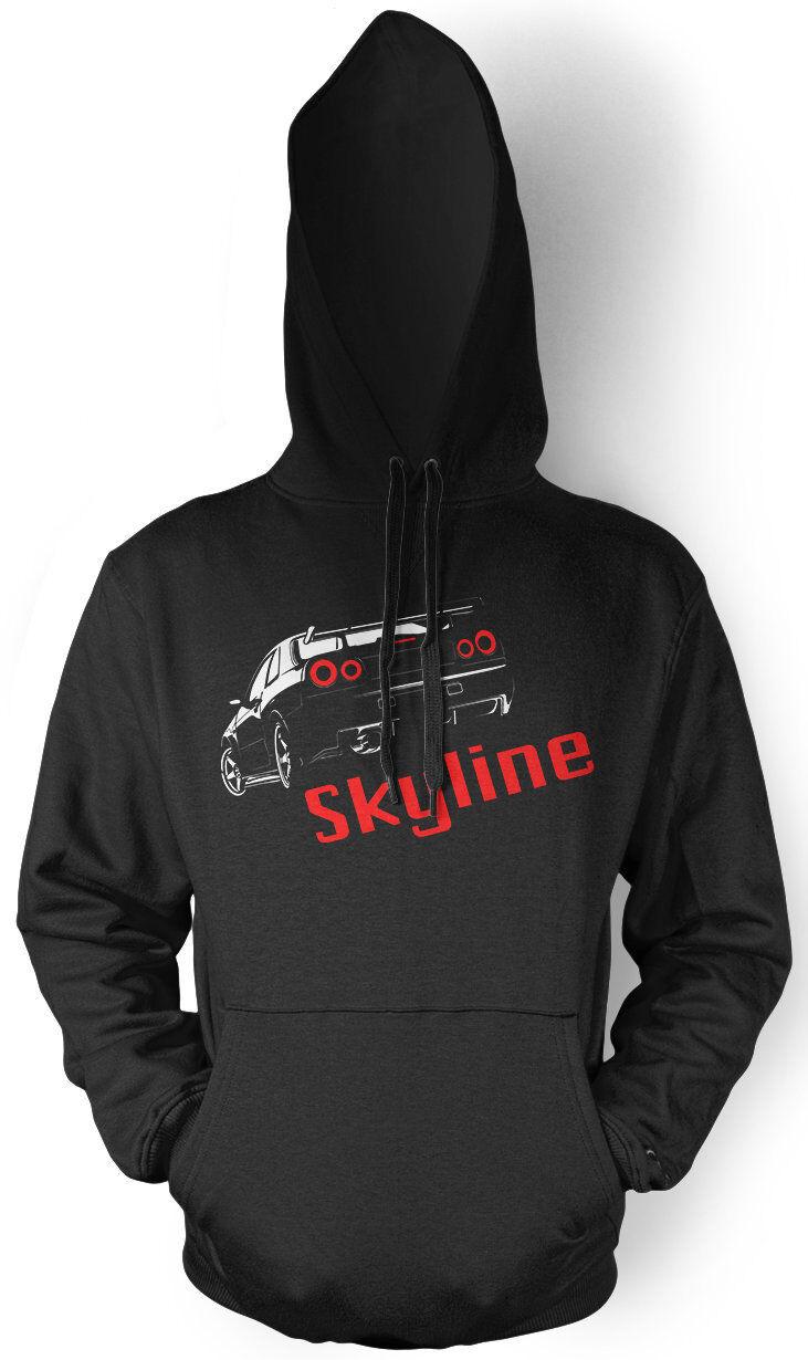 Nissan Skyline Kapuzenpullover | Motorsport Auto Kult | M1