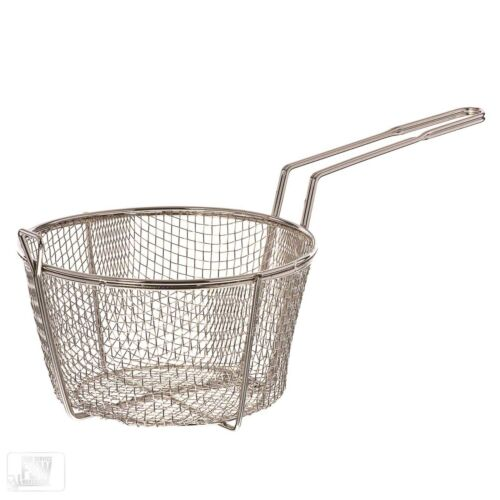 """8 1//2/"""" Round Wire Fry Basket"""