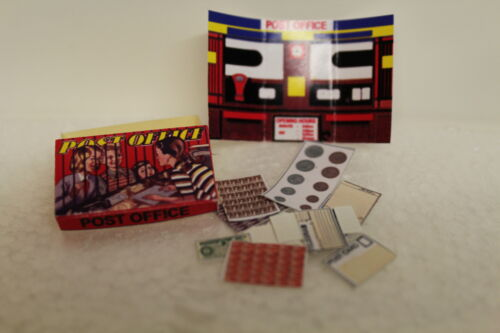 handcrafted Boxed POST OFFICE GAME DOLLS House
