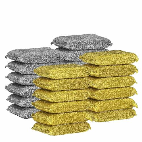 Heavy-Duty No Scratch Kitchen Spong Elite Selection Non-Metal Scrubbing Sponges