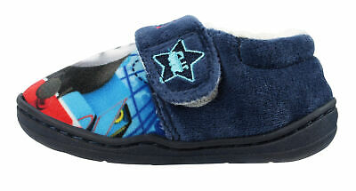 Peter Rabbit Unisex Soft Touch Blue Low Top Slippers UK Sizes Child 5-10