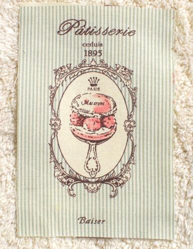 Fabric Sample--11 cm x Wide x 17 cm High--Shabby Chic-----Cotton----Raw edge