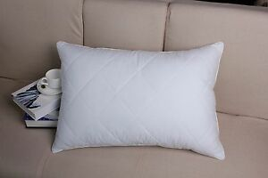 Image Is Loading Luxury100 Egyptian Cotton Goose Feather Filed Bed Pillow