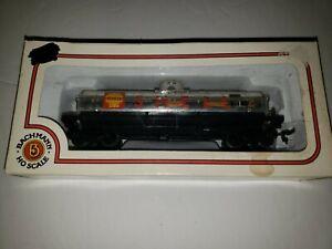 Vintage-Bachmann-HO-Scale-Shell-Tanker-mit-Box