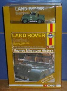 Corgi Cc03005 Avant-gardes Land Rover Série 1 Haynes Miniature Histoire 1:43