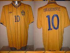 Sweden Umbro ZLATAN IBRAHIMOVIC Large Shirt Jersey Trikot Football Soccer PSG