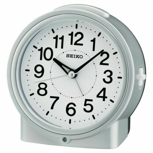 Seiko Bedside Alarm Clock  QHE117SLH