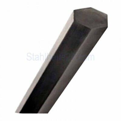 Automatenstahl Sechskant Zuschnitt 250mm lang SW17-11SMn30+C+SH