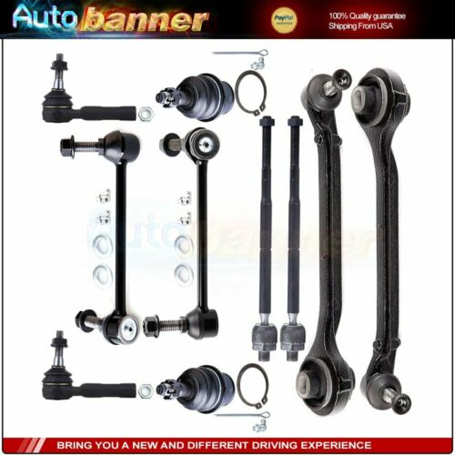New 10pc Complete Front Suspension Kit for Chrysler Dodge Charger Magnum 2WD