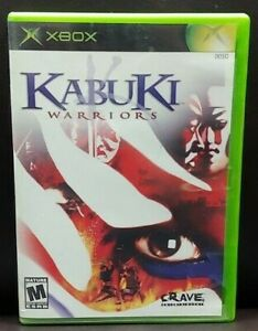 Kabuki-Warriors-Original-Microsoft-Xbox-Game-1-Owner-Near-Mint-Disc
