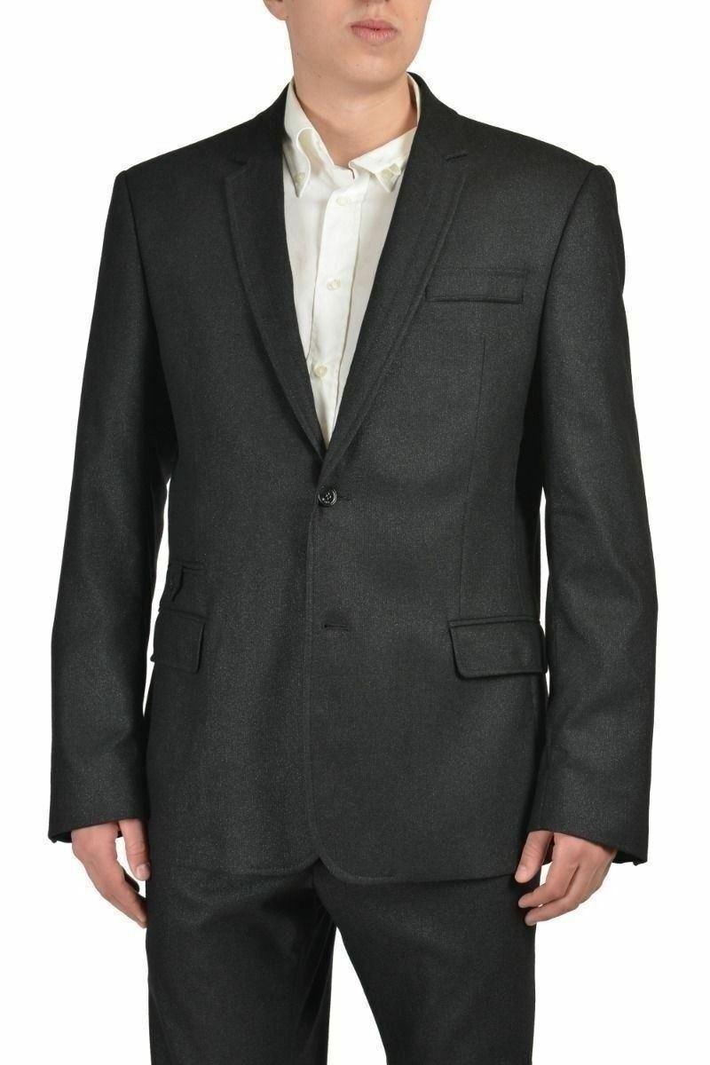 Just Cavalli Herren Grau Wollanzug Größe Us 46 It  | Guter Markt  | Fierce Kaufen  | Großer Räumungsverkauf