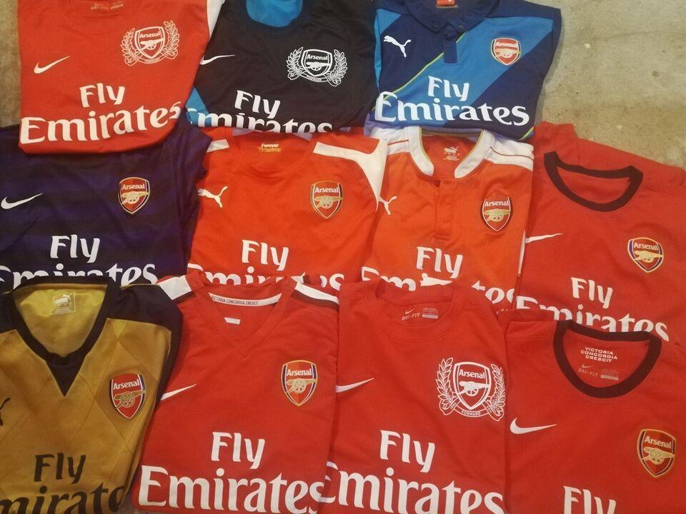 Fodboldtrøje, Arsenal trøjer i large til salg, Nike og puma