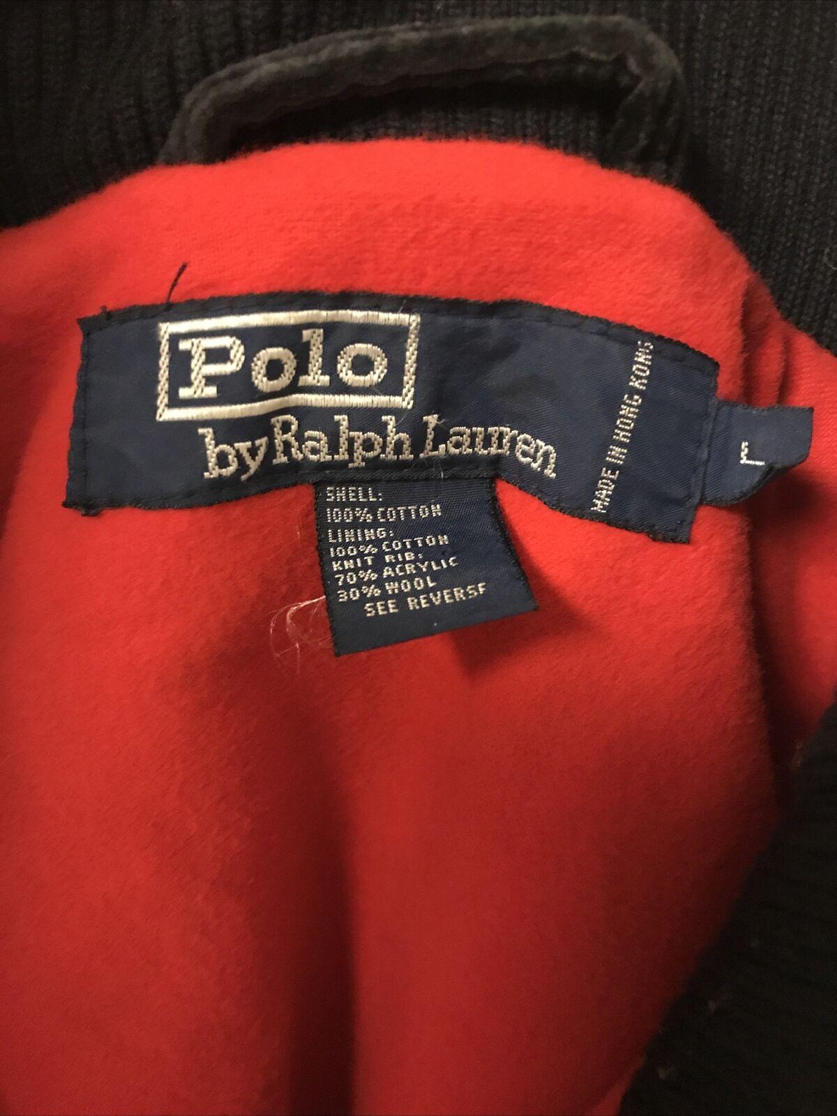 Vintage Polo Ralph Lauren Corduroy Coat Rare 80's… - image 10