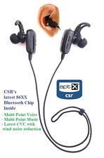 KOKKIA MarathonS (Black): Tiny aptX Ver 4.X Bluetooth Stereo Headset