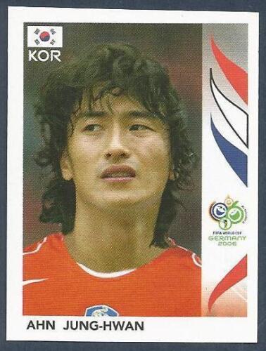 #509-KOREA-AHN JUNG-HWAN PANINI FIFA WORLD CUP-GERMANY 2006