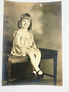 Hermoso-Young-Betty-Sadow-Antiguedad-Blanco-y-Negro-Foto-11-4cmx-16-5cm