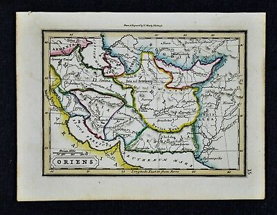 1832 Murphy Map - Oriens Ancient Middle East Persia Iran