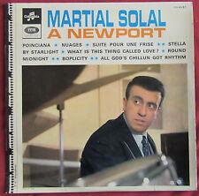 MARTIAL SOLAL  LP ORIG FR A NEWPORT