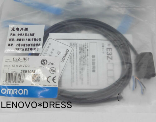 OMRON Photoelectric Switch Sensor E3Z-R61 E3ZR61 New in Bag Free  #G3052  XH