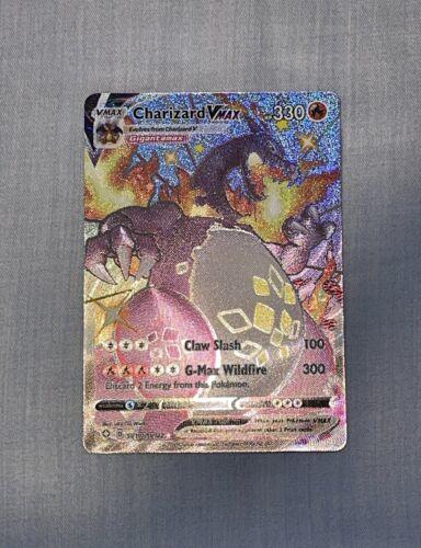 Shiny Charizard VMAX Shining Fates Pokemon Card SV107/122 Pokémon Pack Fresh!!