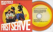 FIRST SERVE DE LA SOUL'S PLUG1 & PLUG2 RARE 16 TRACK PROMO CD