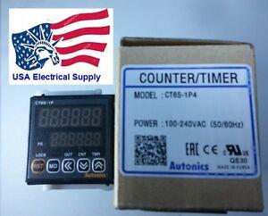 New Autonics Counter Timer CT6S-1P4