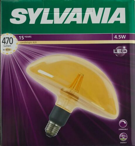 Sylvania ToLEDo SylCone GX200 Light bulb Lamp LED E27 Dimmable Warm 470lm