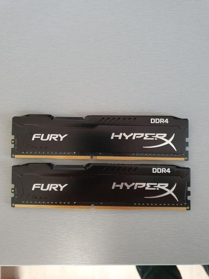 Kingston Hyper X Fury, 8, DDR4 SDRAM
