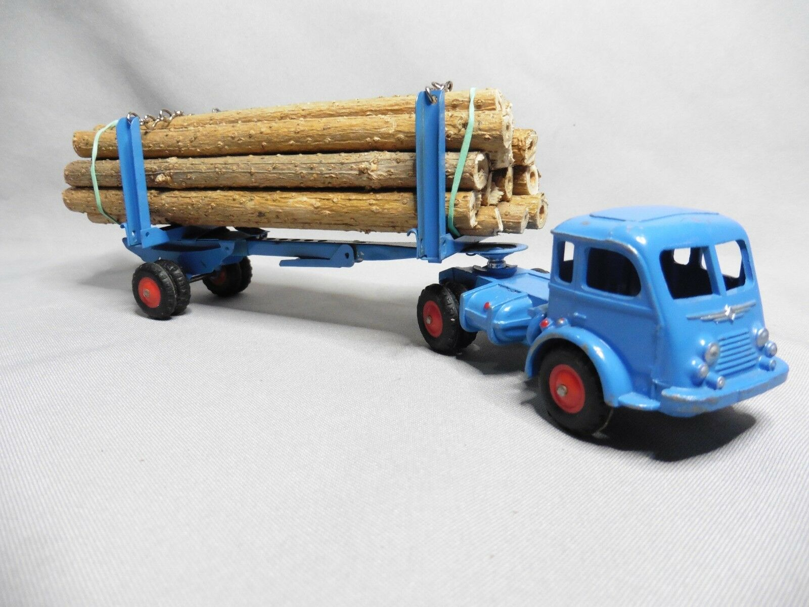 Aj290 cij Faineant road tractor timber trailer 3 73 acceptable condition