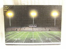 Football Field Game Lighted Canvas Wall Decor Sign