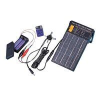 Charge Aa & 9 Volt Batteries Solar Panel That Generates 3, 6, 9, 12 Volts