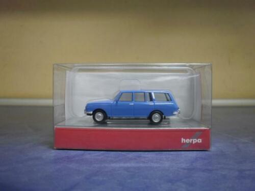 Herpa voiture Wartburg 353 Touriste/'66 bleu clair 024150