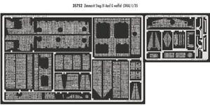 Eduard 1/35 Sturmgeschutz III Ausf.g Zimmerit (Waffle) para Dragon Kits #35752