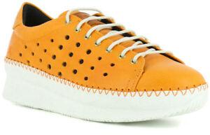 5a15d37fca2431 ART COMPANY PEDRERA 1351 Orange Basket Compensée Chaussures Femme ...