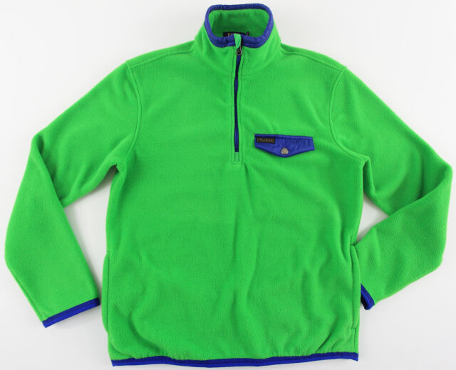 b7c719574 Men s POLO RALPH LAUREN Green Blue Fleece Sweater Jacket X-Large XL NWT NEW