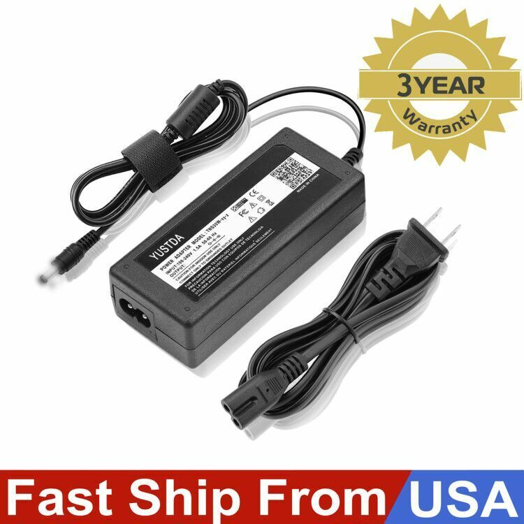 1752265 ReadyWired Power Cable Cord for DYMO LabelWriter 450 Turbo Thermal Label Printer