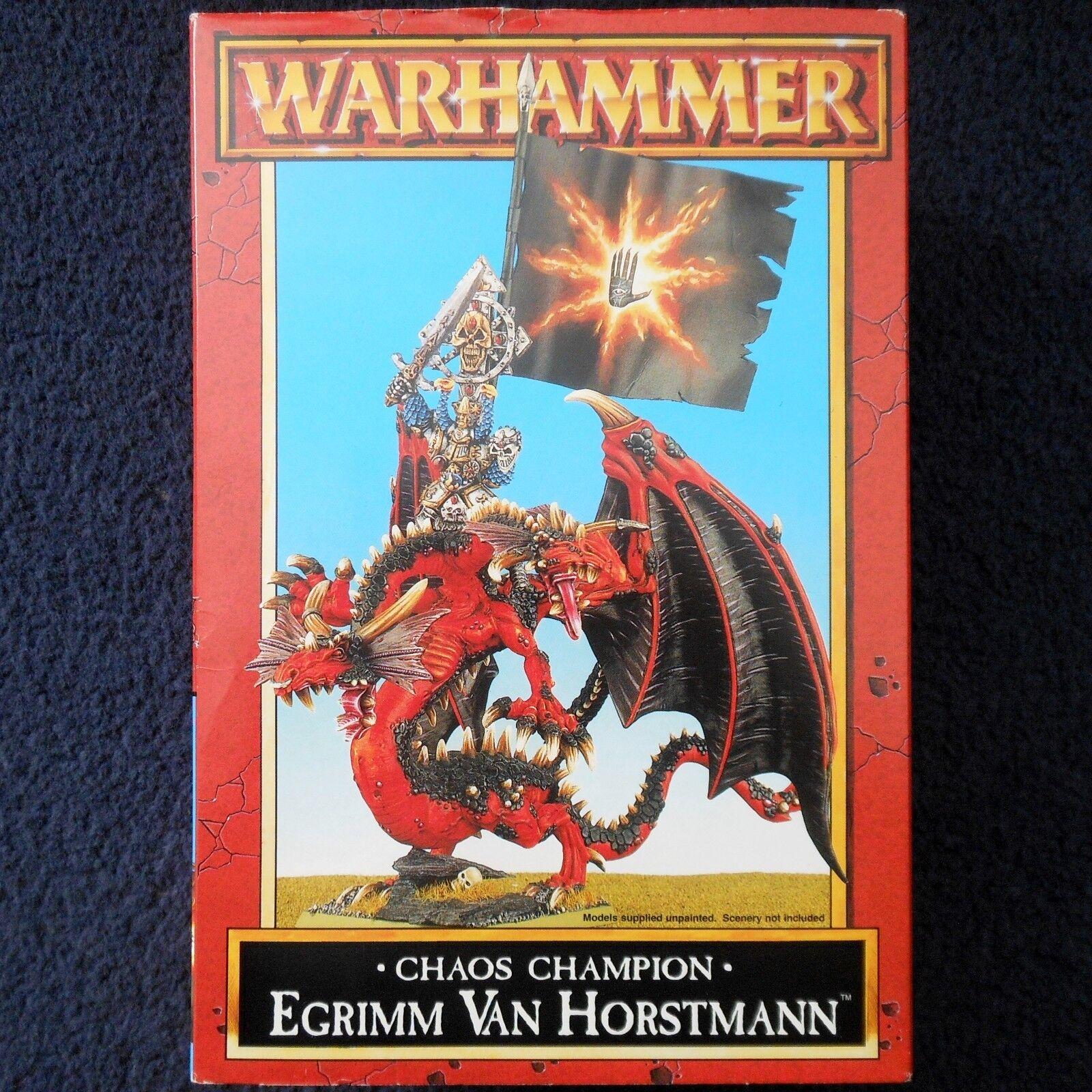 1995 Egrimm Van Horstmann Dark Sorcerer Of Chaos Dungeons & Dragons Citadel MIB