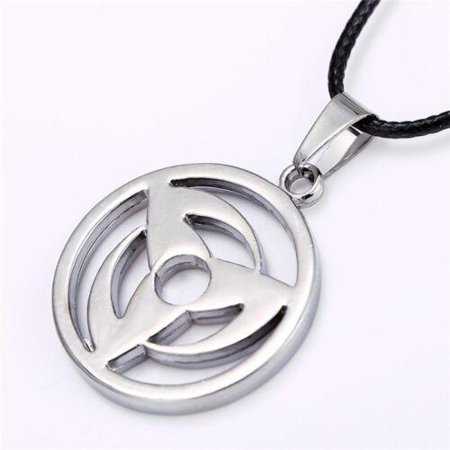 Naruto Bijou Collier Pendentif Hatake Kakashi Mangekyo Sharingan Logo Symbole