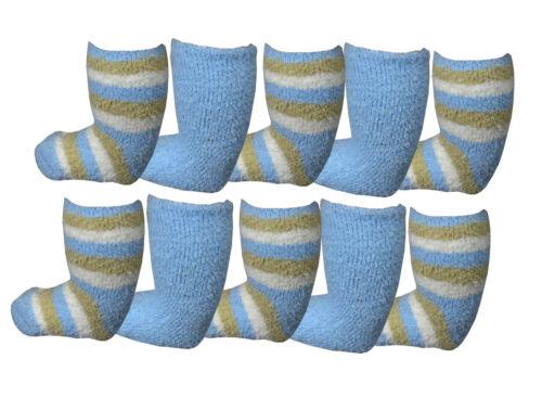 Bargain Deal Babies 10 pairs Soft Fleecey Ankle Socks