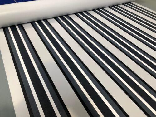 3,2m breit 2,7m lange Vorzeltplane gestreifte Valmex Solera PVC-Plane 1,60m