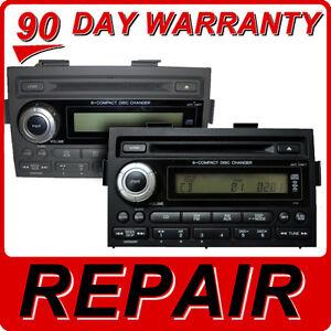 REPAIR 06 07 08 Honda RIDGELINE Radio 6 Disc CD Changer