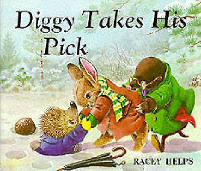 """""""AS NEW"""" Racey Helps, Diggy Takes His Pick (Medici Books for Children) Book"""