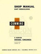 Cummins C Diesel Engines 4 6 Cyl Shop Service Manual