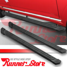 """FOR 07-19 TOYOTA Tundra Double Cab 4/"""" Nerf Bar Side Step Running Board Black H"""
