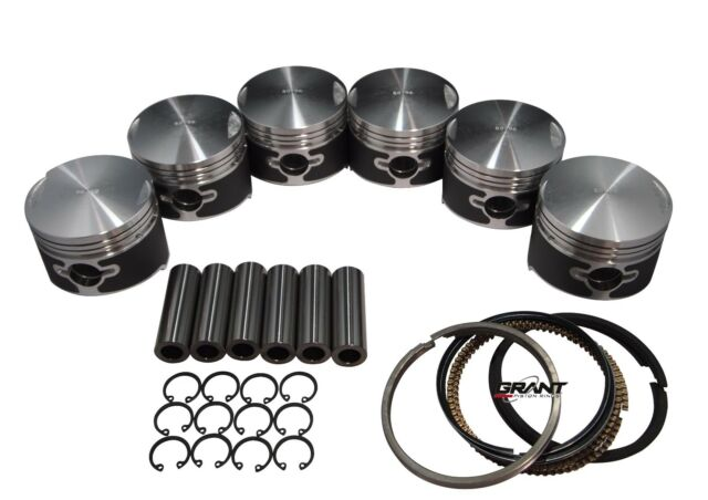QSC Porsche 911  86mm Pistons Set CR 8.5 with Grant Piston Rings